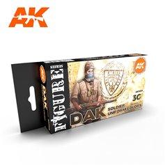 AK Interactive Zestaw farb DAK SOLDIER UNIFORM COLORS 3G