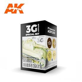 AK Interactive Zestaw farb MODULATION GERMAN DUNKELGELB 3G