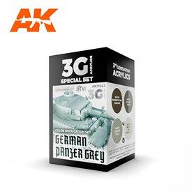 AK Interactive Zestaw farb MODULATION GERMAN PANZER GREY 3G