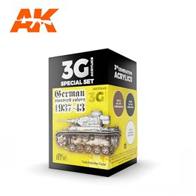 AK Interactive Zestaw farb GERMAN STANDARD 37-44 COMBO 3G