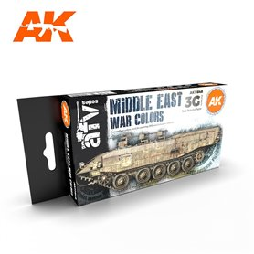 AK Interactive Zestaw farb MIDDLE EAST WAR COLORS 3G