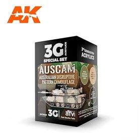 AK Interactive Zestaw farb AUSCAM COLORS SET 3G