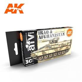AK Interactive Zestaw farb IRAQ & AFGHANISTAN 3G