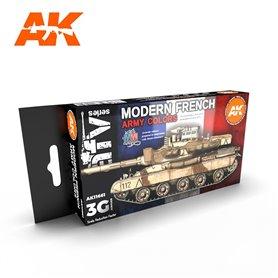 AK Interactive Zestaw farb MODERN FRENCH AFV 3G