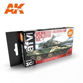 AK Interactive Zestaw farb MODERN RUSSIAN COLOURS VOL 1 3G