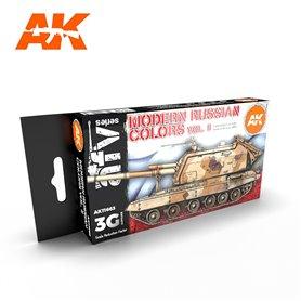 AK Interactive Zestaw farb MODERN RUSSIAN COLOURS VOL 2 3G