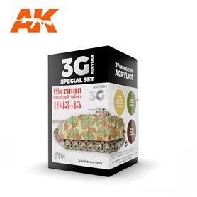 AK Interactive Zestaw farb GERMAN STANDARD 44-45 COMBO 3G