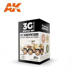 AK Interactive Zestaw farb BUNDESWEHR DESERT COLORS 3G