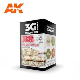 AK Interactive Zestaw farb PANZER COLORS 1946 3G