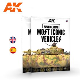 AK Interactive WWII GERMAN MOST ICONIC SS VEHICLES. VOL