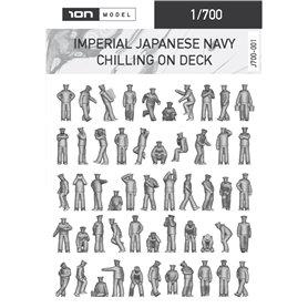ION MODEL 1:700 Figurki IMPERIAL JAPANESE NAVY - CHILLING ON DESK - 92szt.