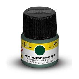 Farba akrylowa Heller 003 Brunswick Green Gloss 12 ml