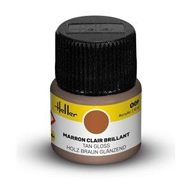 Farba akrylowa Heller 009 Tan Gloss 12 ml