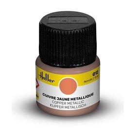 Farba akrylowa Heller 012 Copper Metallic 12 ml