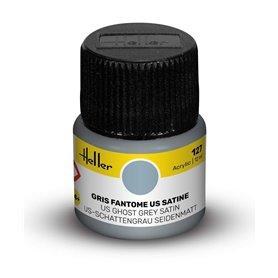 Farba akrylowa Heller 127 US Ghost Grey Satin 12 ml
