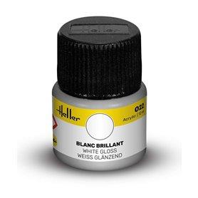 Farba akrylowa Heller 022 White Gloss 12 ml