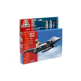 Italeri 1:72 JAS-39 Gripen | Model Set | w/paints |