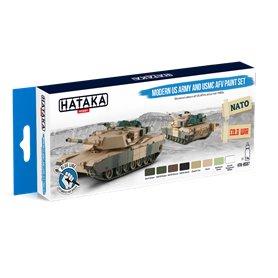 Hataka BS67 BLUE-LINE Zestaw farb MODERN US ARMY AND USMC AFV
