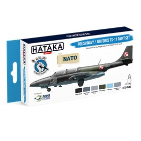 Hataka BS46 BLUE-LINE Zestaw farb POLISH NAVY / AIR FORCE TS-11