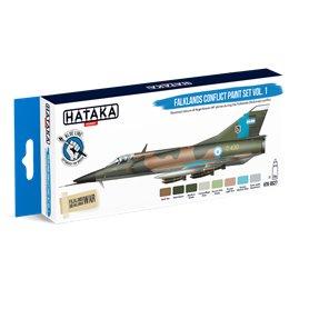 Hataka BS27 BLUE-LINE Zestaw farb FALKLANDS CONFLICT VOL.1