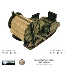 Bolt Action Pojazd pancerny CHURCHILL AVRE W/BOBBIN