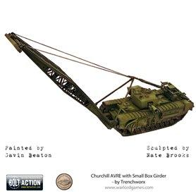 Bolt Action Pojazd pancerny CHURCHILL AVRE W/SMALL BOX GIRDER