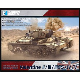 Rubicon Models 1:56 Valentine II/III/IIIcs/IV/V