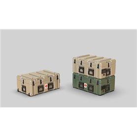Eureka XXL 1:35 MODERN US ARMY PELICAN MEDCHEST4 MOBILE MEDICAL - 1szt.