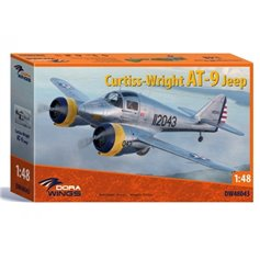 Dora Wings 1:48 Curtiss-Wright AT-9 Jeep