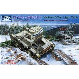 Riich CV35A009 Vickers 6-ton light tank Alt B Late Production Finland