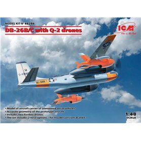 ICM 48286 DB-26B/C with Q-2 drones