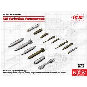 ICM 48406 US Aviation Armament (100% new molds)