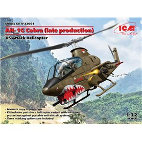 ICM 32061 AH-1G Cobra (late production), US Attack Helicopter
