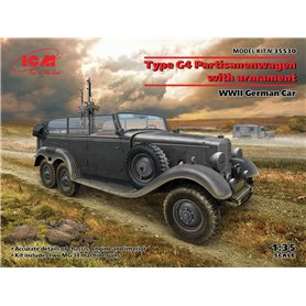 ICM 35530 G4 with armament, WWII German Car