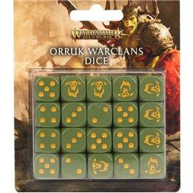 Warhammer AGE OF SIGMAR Orruk Warclans Dice