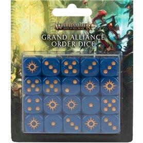 Warhammer AGE OF SIGMAR Grand Alliance Order Dice Set