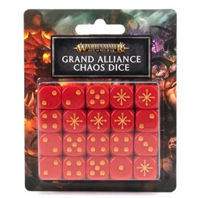 Warhammer AGE OF SIGMAR Grand Alliance Chaos Dice Set