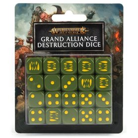 Warhammer AGE OF SIGMAR Grand Alliance Destruction Dice Set
