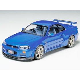 Tamiya 1:24 Nissan Skyline GT-R V-spec R34