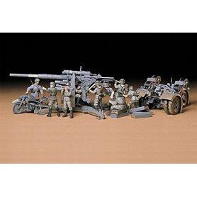 Tamiya 1:35 Flak 36/37 88mm | 9 figurek |