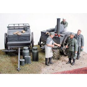 Tamiya 1:35 German field kitchen | 4 figurines |