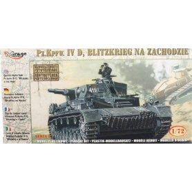 Mirage Hobby 1:72 Pz.Kpfw.IV Ausf.D / Blitzkrieg na Zachodzie