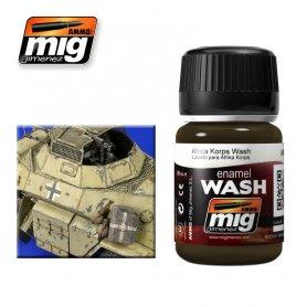 Ammo of MIG Enamel Wash AFRICA KORPS WASH