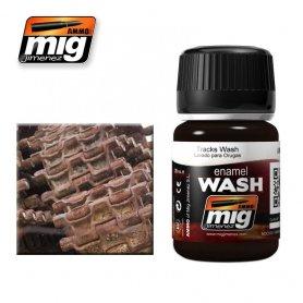 Ammo of MIG Enamel Wash TRACKS WASH