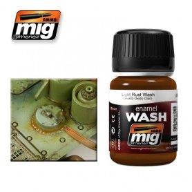 Ammo of MIG Enamel Wash LIGHT RUST WASH