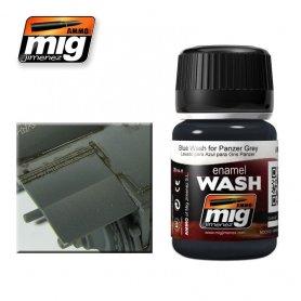Ammo of MIG Enamel Wash BLUE WASH FOR PANZER GREY