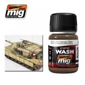 Ammo of MIG Enamel Wash US MODERN VEHICLES WASH