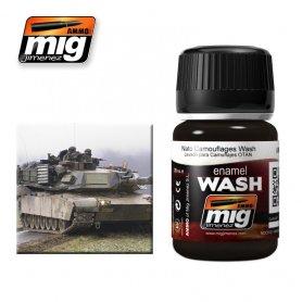 Ammo of MIG Enamel Wash NATO CAMOUFLAGES WASH