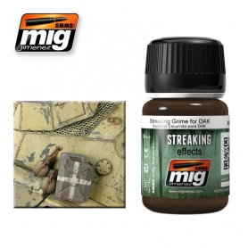 Ammo of MIG Enamel Streaking Effect STREAKING GRIME FOR DAK