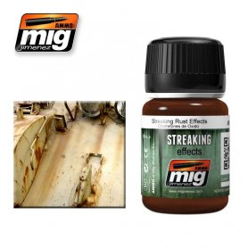 Ammo of MIG Enamel Streaking Effect Reference: A.MIG-1204 Enamel type product to create Streaking effect. 3,60 € Quantity: